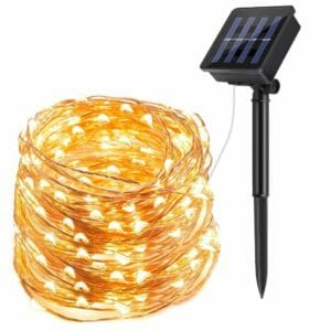 ECOWHO Top Ten Best Solar-powered Fairy Lights
