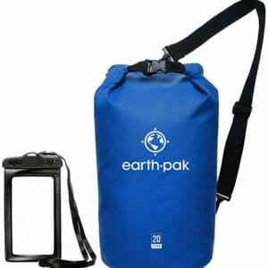 Earth Pak Top Ten Best Waterproof Bags for Camping