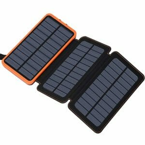 Feelle Top Ten Best Solar Cellphone Chargers