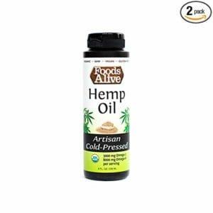 Foods Alive Top Ten Best Hemp Seed Oils For Cooking