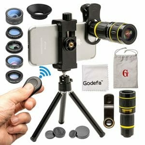 Godefa Top Ten Best Phone Lenses