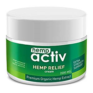 Hempactive best hemp creams for pain