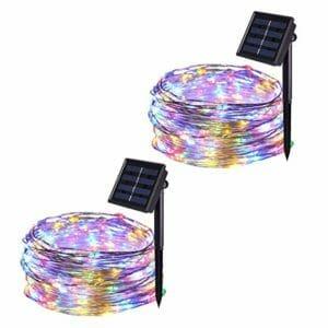 JMEXSUSS Top Ten Best Solar-powered Fairy Lights