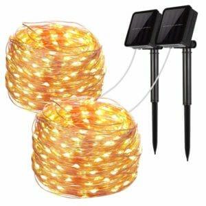 LiyanQ Top Ten Best Solar-powered Fairy Lights