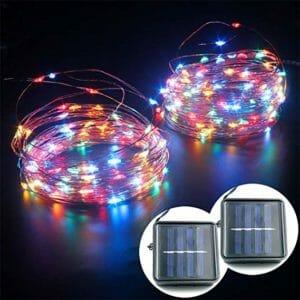 Mankinlu Top Ten Best Solar-powered Fairy Lights