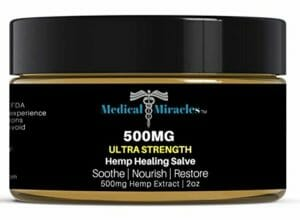 Medical Miracles best hemp creams for pain