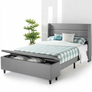 Mellow Top Ten Best Mattress Frames with Storage