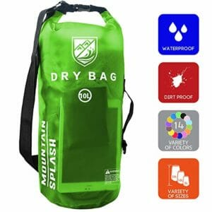 Mountain Splash Top Ten Best Waterproof Bags for Camping
