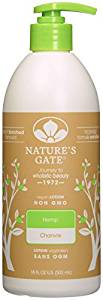 Natures gate top ten hemp lotions