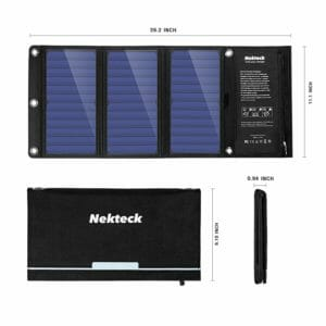 Nekteck Top Ten Best Solar Cellphone Chargers