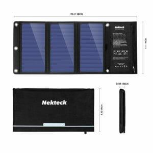 Nekteck Top Ten Best Solar Cellphone Chargers