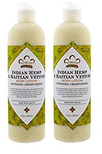 Nubian top ten hemp lotions