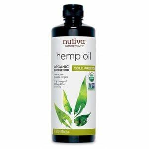 Nutiva Top Ten Best Hemp Seed Oils For Cooking
