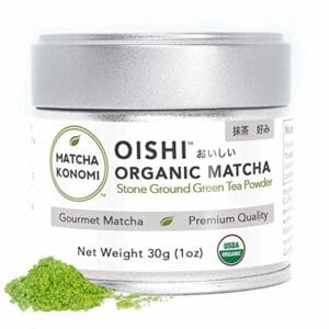 Oishi Matcha Top Ten Best Matcha Powder Teas