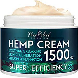 Pain relief inc top ten hemp lotion