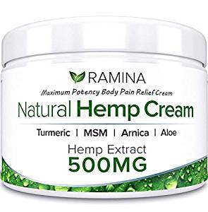 Raminas Best hemp creams for pain