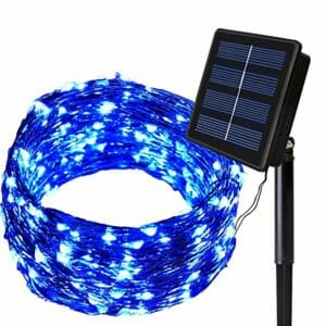 SOLARMKS Top Ten Best Solar-powered Fairy Lights