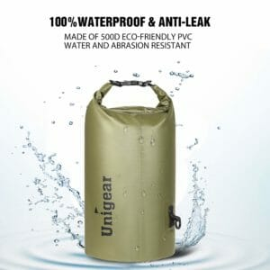 Unigear Top Ten Best Waterproof Bags for Camping