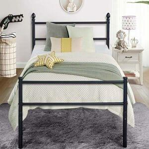 Vecelo Top Ten Best Twin Mattress Frames for Bed-in-Boxes