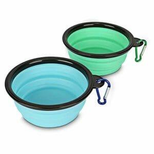 Yisscen best foldable dog bowls