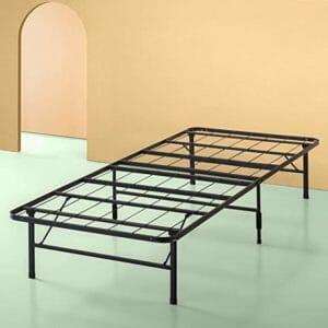 Zinus Top Ten Best Twin Mattress Frames for Bed-in-Boxes