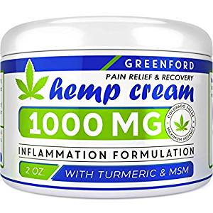 greenford best hemp creams for pain
