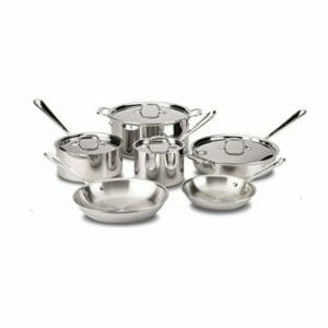 All-Clad Top Ten Stainless Steel Cookware Sets