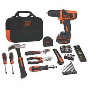 BLACK+DECKER Top Ten Household Tool Kits