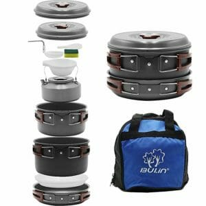 Bulin Top Ten Camping Cookware Sets