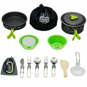 CampingRockers Top Ten Camping Cookware Sets