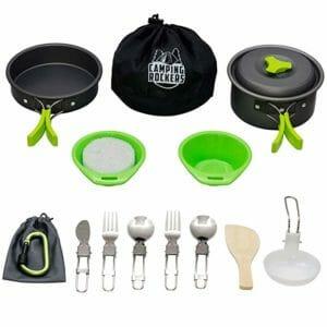 CampingRockers Top Ten Camping Cookware Sets