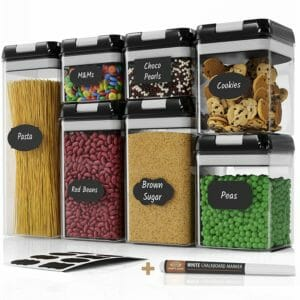 Chef's Path Top Ten Clear Food Storage Container Sets