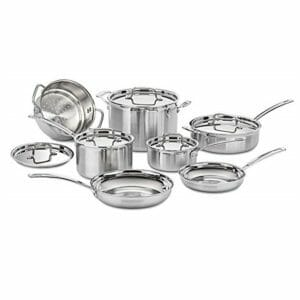 Cuisinart Top Ten Stainless Steel Cookware Sets