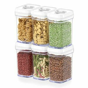 DWËLLZA Top Ten Clear Food Storage Container Sets