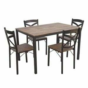 Fantastic Top 10 Best Dining Table Sets Best Choice Reviews Onthecornerstone Fun Painted Chair Ideas Images Onthecornerstoneorg