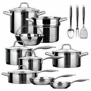 Duxtop Top Ten Stainless Steel Cookware Sets