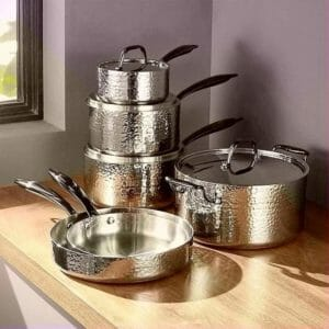FLEISCHER AND WOLF Top Ten Stainless Steel Cookware Sets