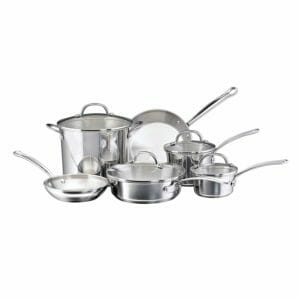 Farberware Top Ten Stainless Steel Cookware Sets