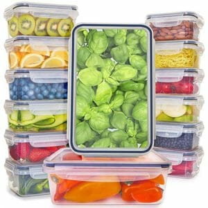 Fullstar Top Ten Clear Food Storage Container Sets