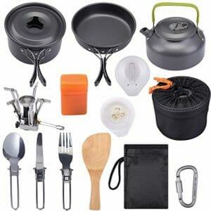 G4Free Top Ten Camping Cookware Sets
