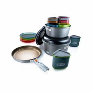 GSI Top Ten Camping Cookware Sets