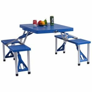 Gymax Top Ten Best Portable Picnic Tables