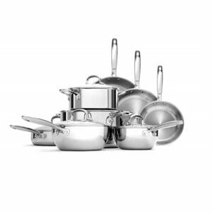 OXO Top Ten Stainless Steel Cookware Sets