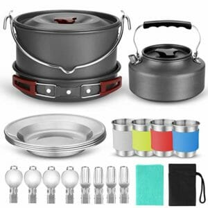 Odoland Top Ten Camping Cookware Sets