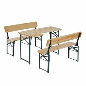 Outsunny 2 Top Ten Best Portable Picnic Tables