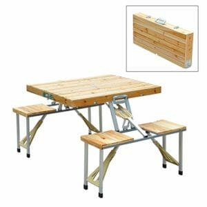 Outsunny Top Ten Best Portable Picnic Tables