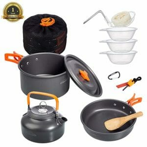 Overmont Top Ten Camping Cookware Sets