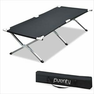 Purenity Top Ten Camping Cots