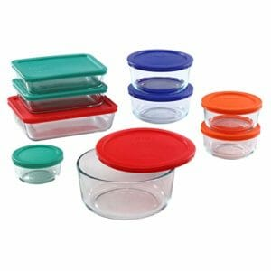 Pyrex Top Ten Clear Food Storage Container Sets