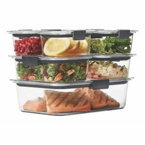 Rubbermaid Top Ten Clear Food Storage Container Sets